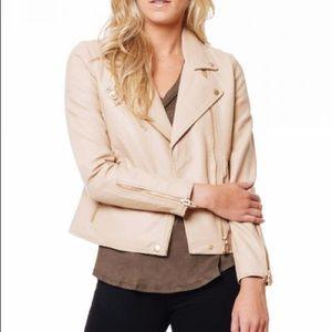 NWT Blanc NYC leather moto jacket